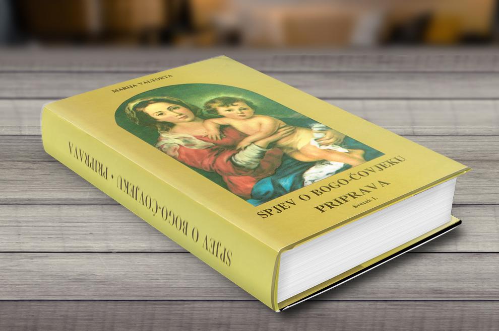 Spjev o Bogo-čovjeku - knjiga- Valtorta