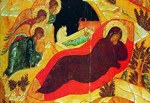 Ikonografski prikaz koji izriče vjeru u Kristovo utjelovljenje (stvarnu prisutnost) u euharistiji
