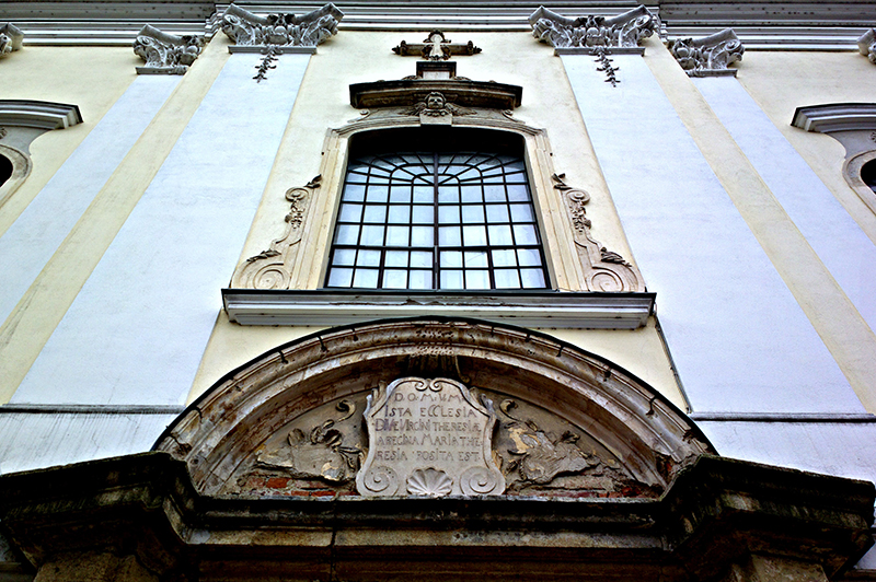 The facade of the cathedral of St. Teresa of Avila; fotografirao Slaven Bandur
