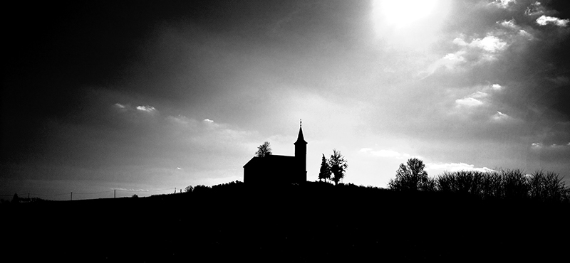 chapel on the hilll; fotografirao Slaven Bandur