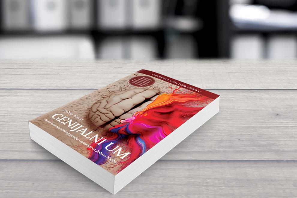 genijalni um knjiga autor sylvia nasar zivot matematickog genija i nobelovca johna nasha A1