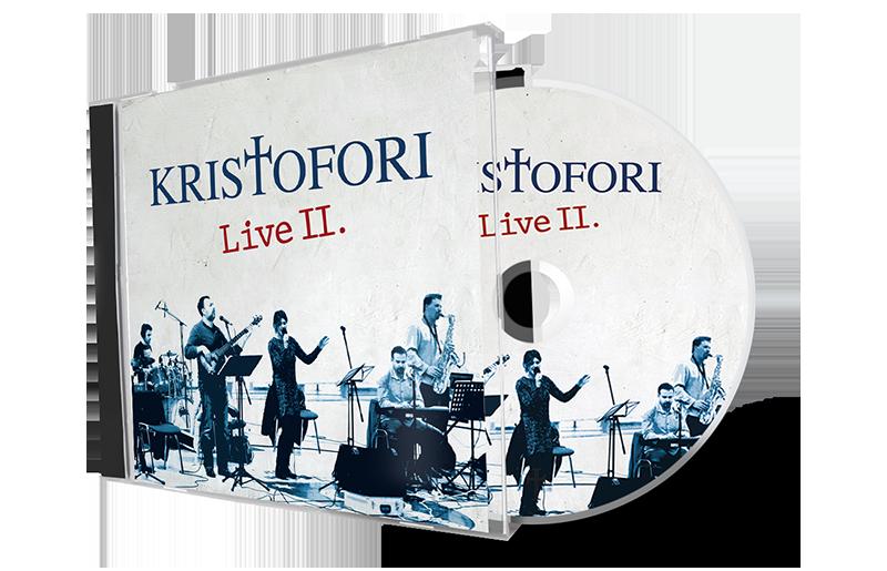 kristofori hosana live II cd slavljenicki band