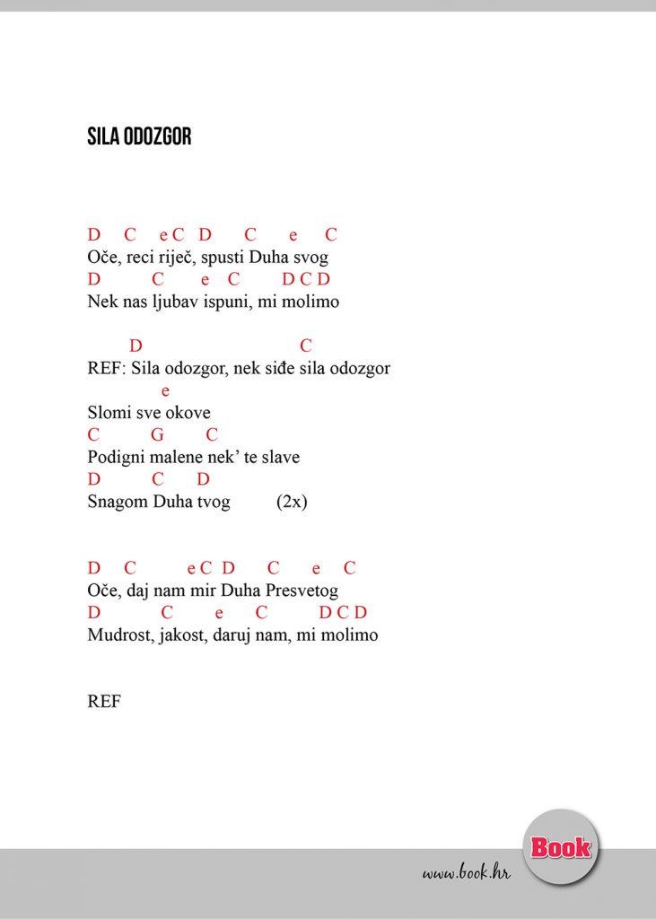 Sila odozgor - tekst i akordi