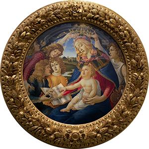 Veličanstvena Gospa, autor: Sandro Botticelli (o. 1445.)