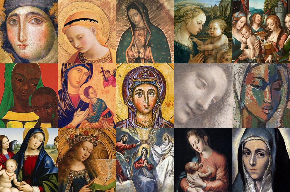 16 prekrasnih Marijinih slika, koje nas podsjećaju da je Marija naša duhovna majka