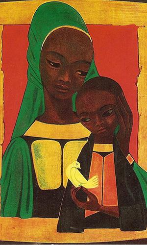 Afrička Gospa, autor nepoznat