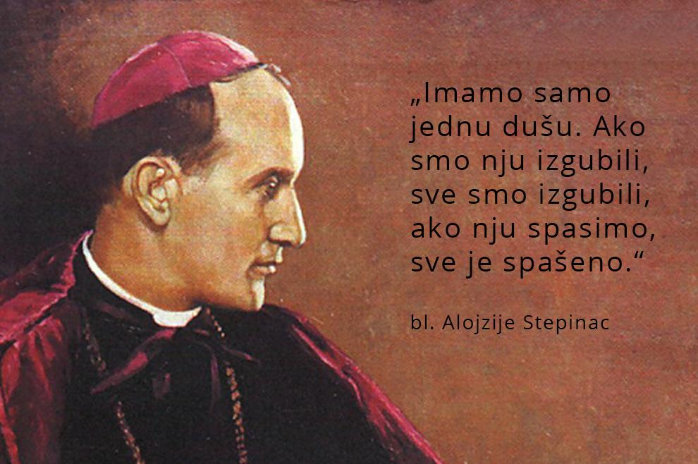 bl. Alojzije Stepinac // Imamo samo jednu dušu... - Book.hr
