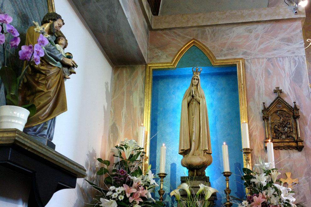 Iz crkve sv. Antuna, Bjelovar