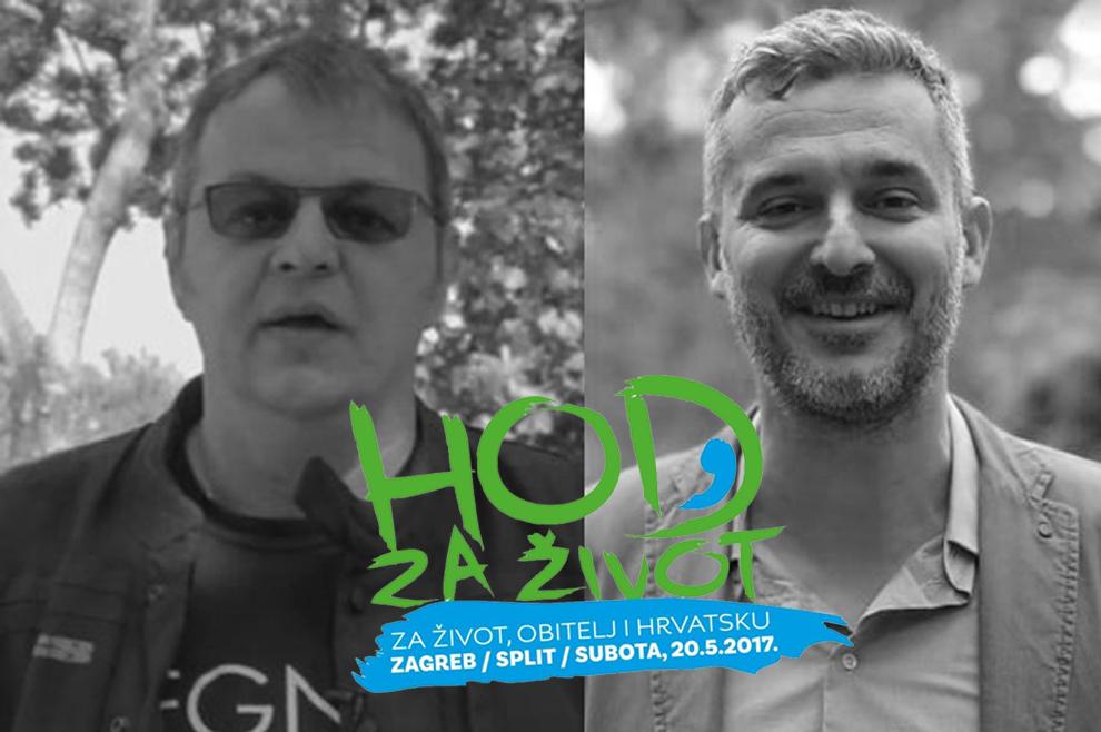 Marijan Ban i Nino Raspudić pozivaju na sudjelovanje u Hodu za život