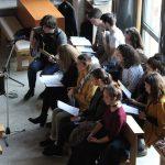 Pjevanje na duhovnoj obnovi u župi Uzašašća Gospodnjega, Sloboština
