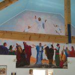 Uznesenje (fresco; 7x4m) u rkt. crkvi u Lasovcu pokraj Bjelovara