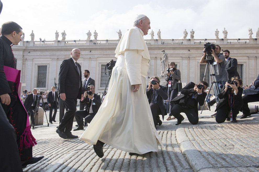 Papa Franjo susreo se s članovima Međunarodne talijansko-latinomaeričke organizacije
