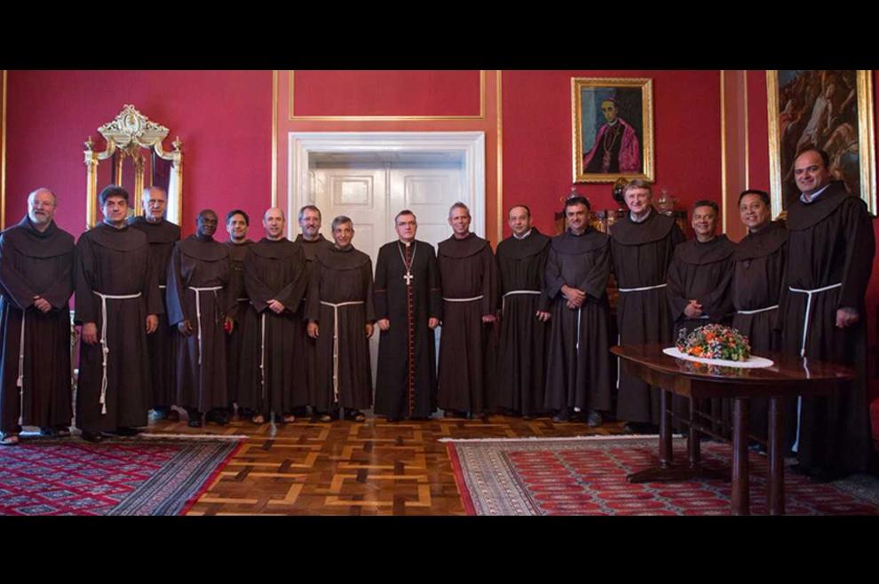 Susret u Nadbiskupijskom dvoru: Generalni ministar Reda manje braće posjetio kardinala Bozanića