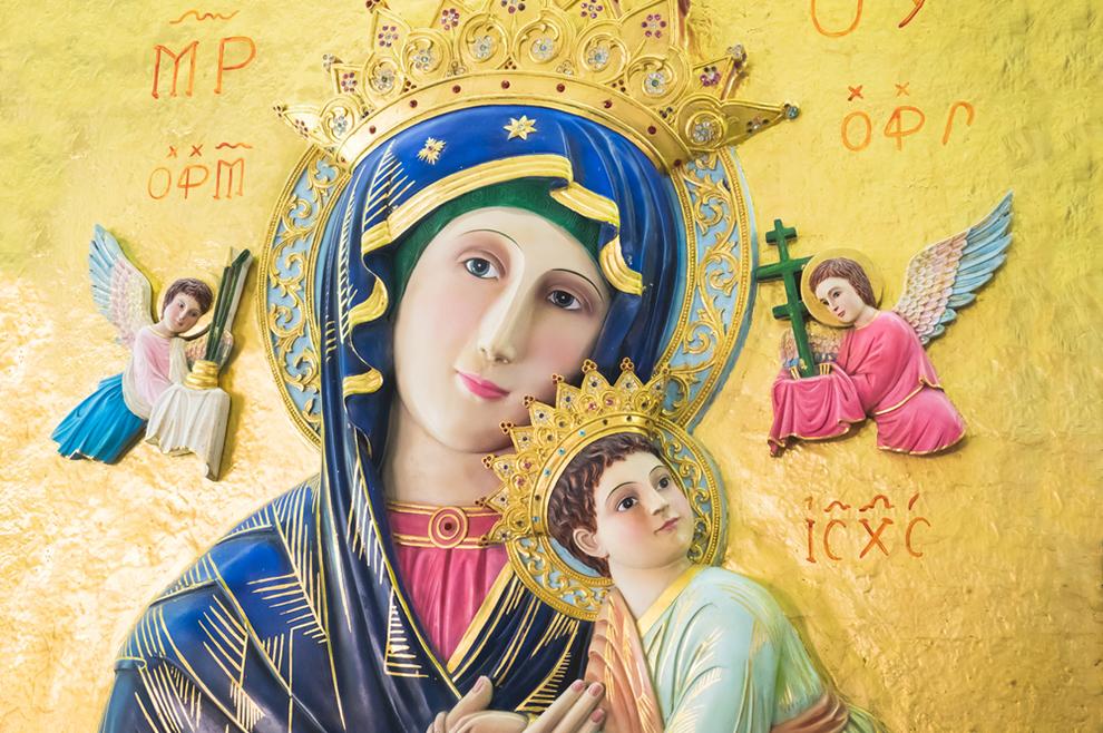 Zašto je Blažena Djevica Marija uvijek u plavome