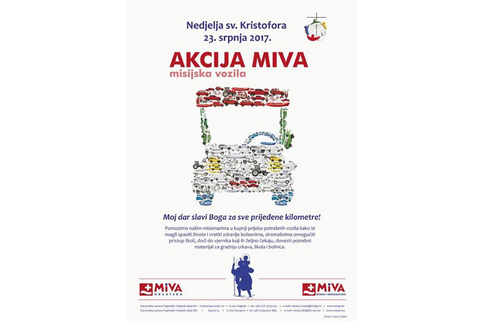 Počinje akcija MIVA Hrvatska za pomoć misionarima