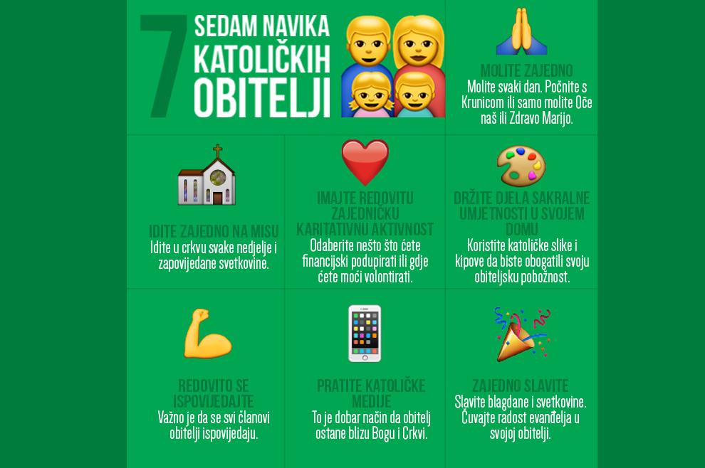 Sedam navika koje bi katoličke obitelji trebale razviti