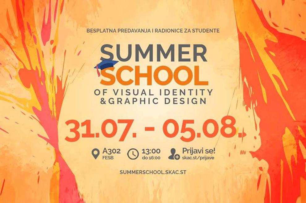 SKAC organizira ljetnu školu vizualnog identiteta i grafičkog dizajna
