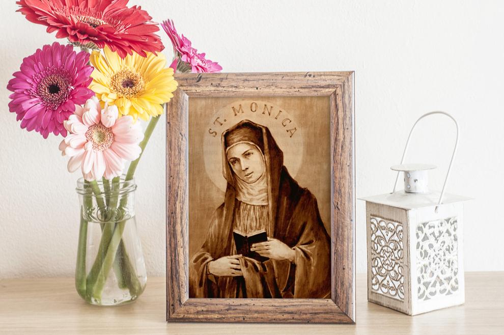 Sveta Monika - zaštitnica žena i majki