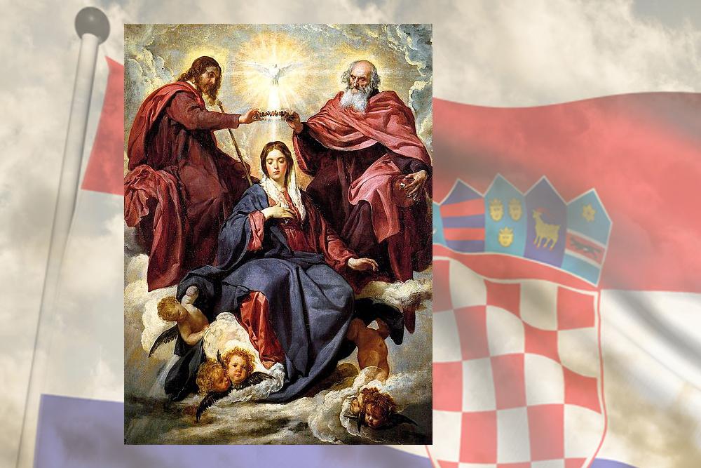 Blažena djevica Marija kraljica, kraljica Hrvata?