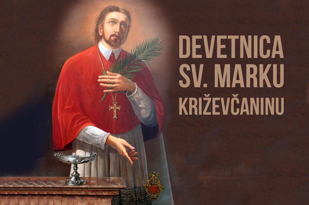 Devetnica sv. Marku Križevčaninu