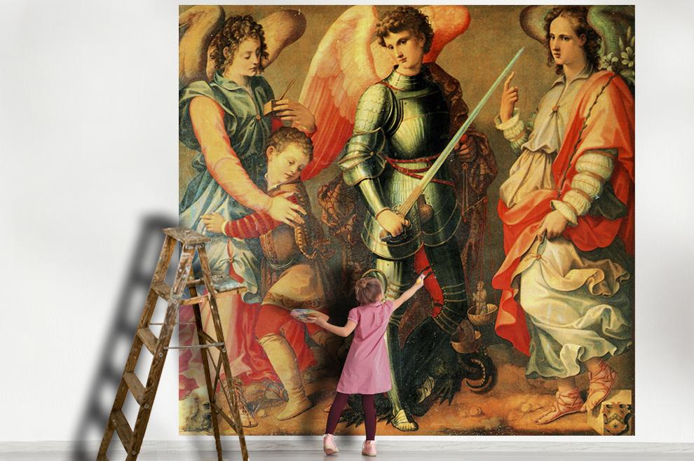 Sveti arkanđeli Mihael, Rafael i Gabriel