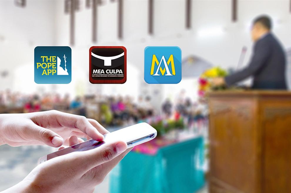 Tri katoličke aplikacije za mobitel