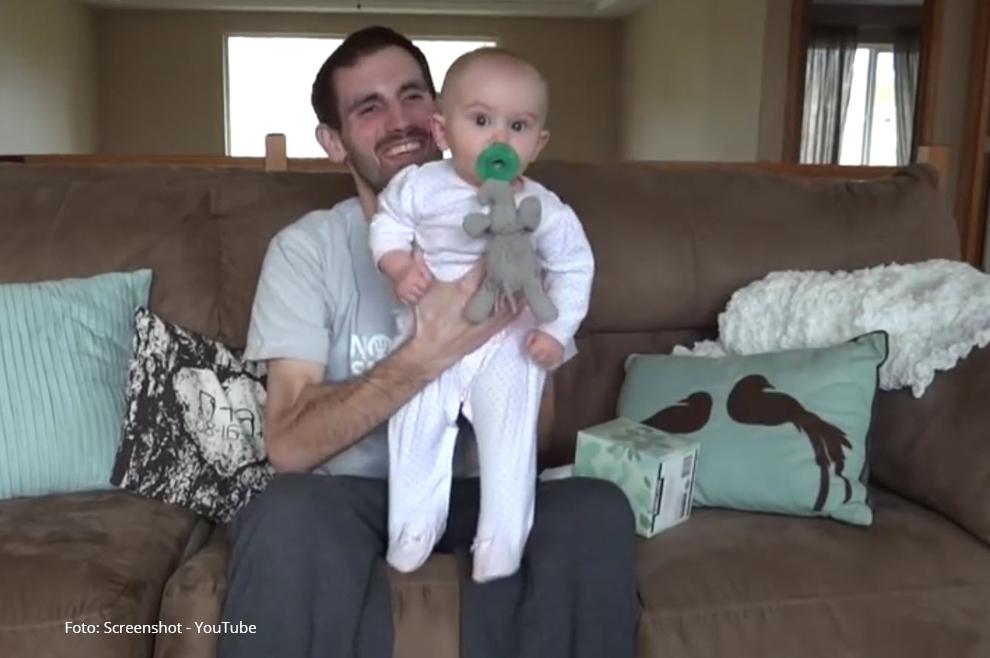 """Umirući otac snimio video poruku za svoju kćer: """"Bog će biti njezin otac kada mene više ne bude"""""""