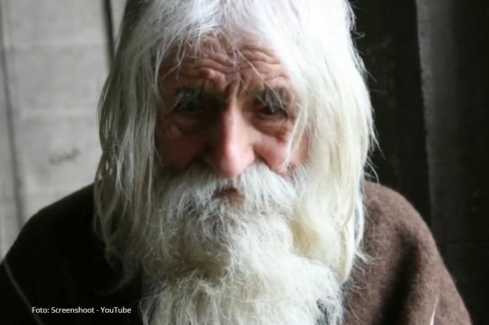Stogodišnji prosjak ne predaje se ni godinama ni siromaštvu