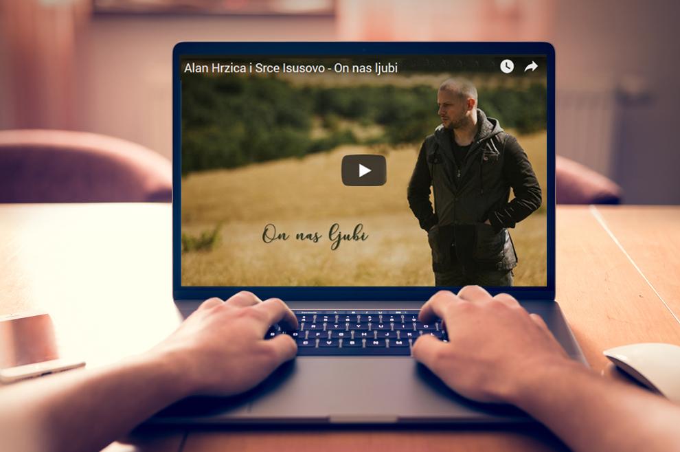 """[VIDEO] """"On nas ljubi"""" - nova pjesma Alana Hržice i molitvene zajednice Srce Isusovo!"""