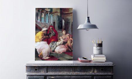 Sveti Elizabeta i Zaharija - roditelji sv. Ivana Krstitelja