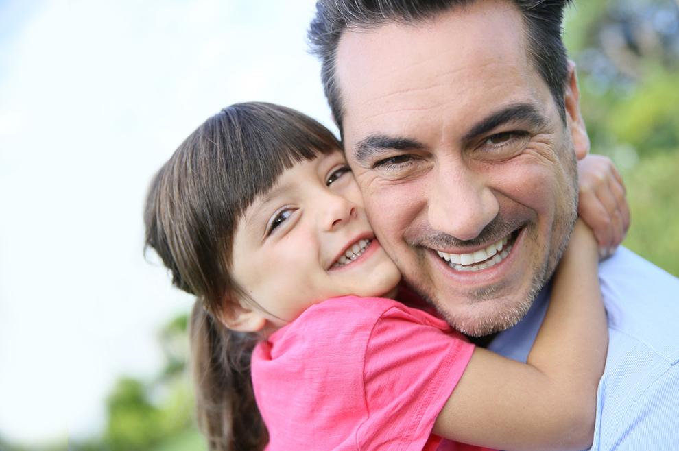 Otac je nezamjenjiva osoba u životu svake kćeri