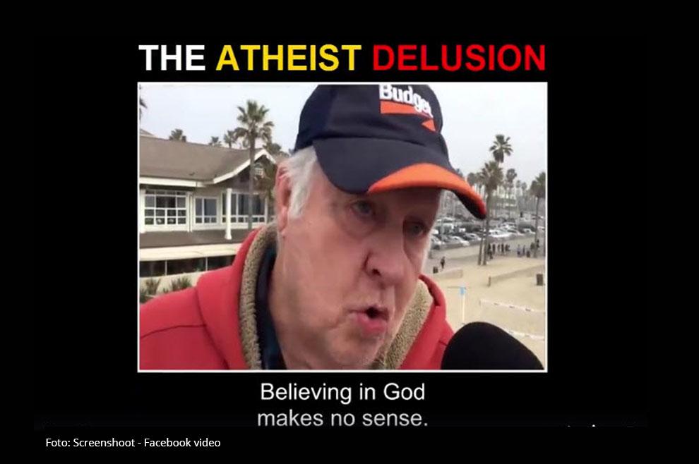[VIDEO]: Pogledajte kako je jednim jednostavnim pitanjem pokolebao ove uvjerene ateiste!