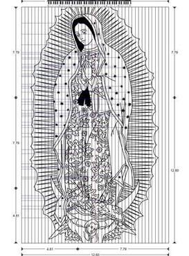 Gospe od Guadalupea- ogrtač s rajskom melodijom