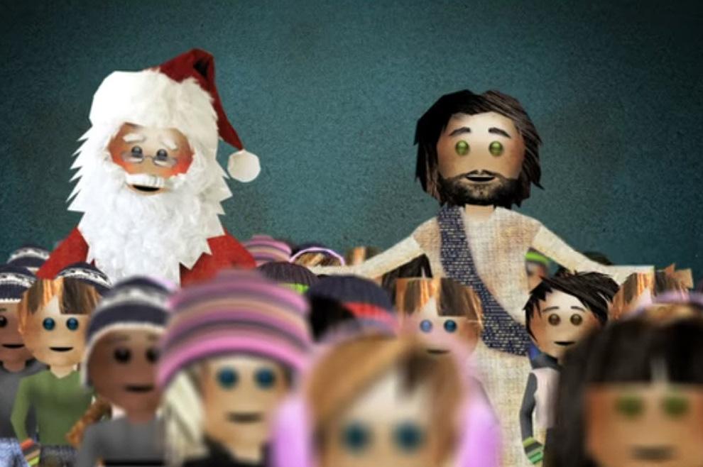 Razlika između Djeda Božićnjaka i Isusa