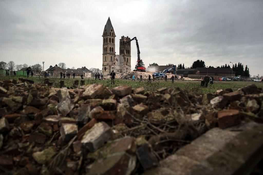 Srušena povijesna crkva u Njemačkoj