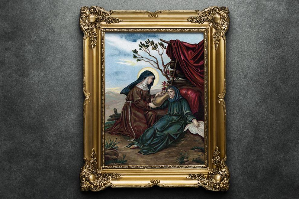 Sveta Hijacinta Marescotti – zbog nesretne ljubavi otišla je u samostan gdje je doživjela iskreno obraćenje