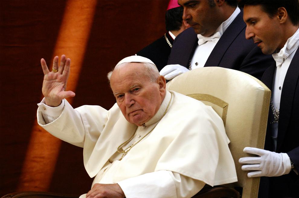 Sveti Ivan Pavao II: 'Ustani!'