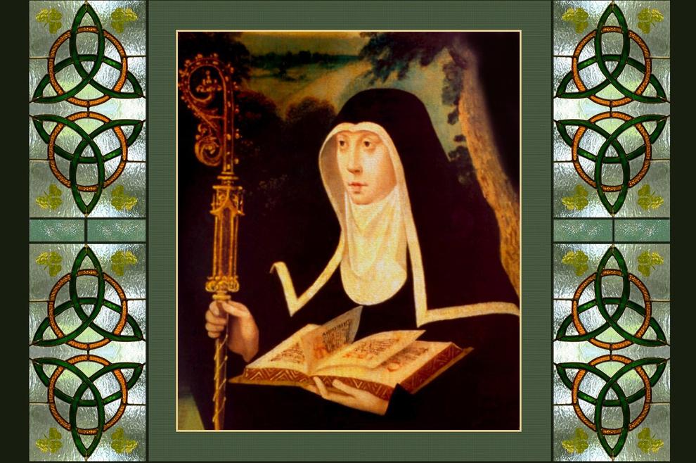 Sveta Brigita Irska – keltska svetica i bliska prijateljica sv. Patrika