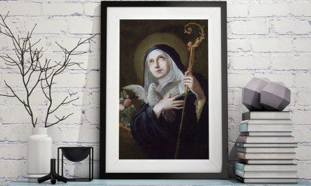 Sveta Skolastika – sestra blizanka svetog Benedikta
