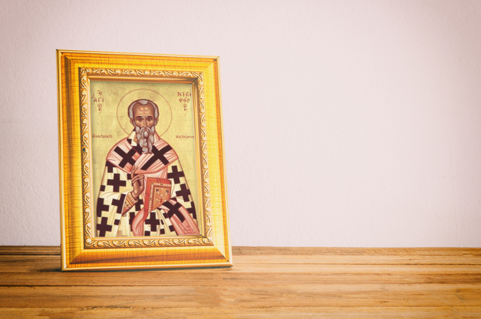 Sveti Nicefor Carigradski - carigradski patrijarh, mučenik i bizantski povjesničar