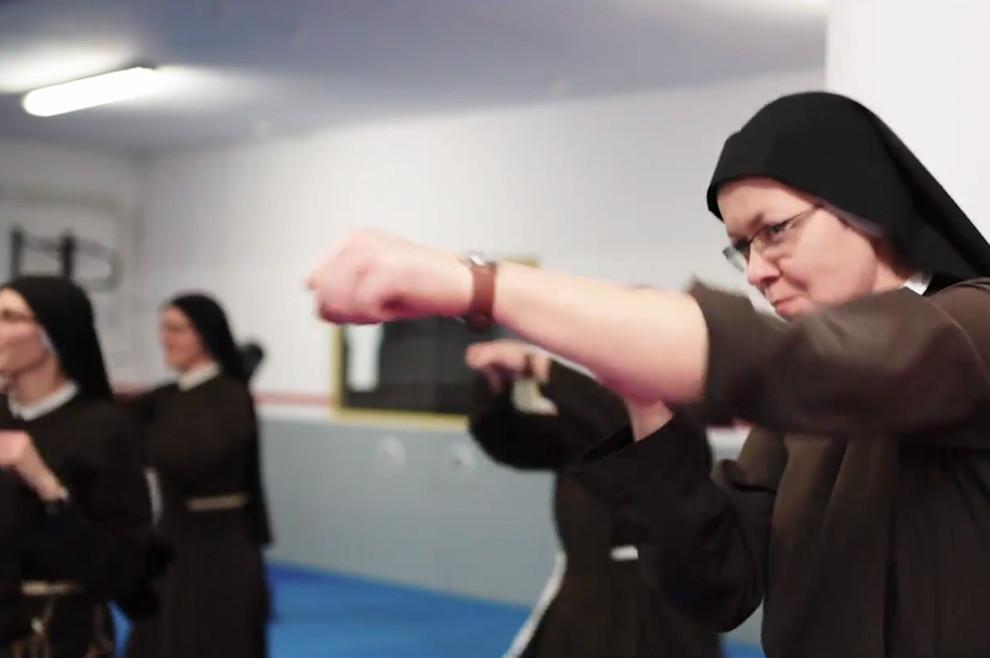 Pogledajte kako izgleda svakodnevni trening redovnica iz Poljske