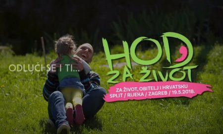 """VIDEO Pridružite se ovogodišnjem """"Hodu za život"""" u Zagrebu, Splitu ili Rijeci"""
