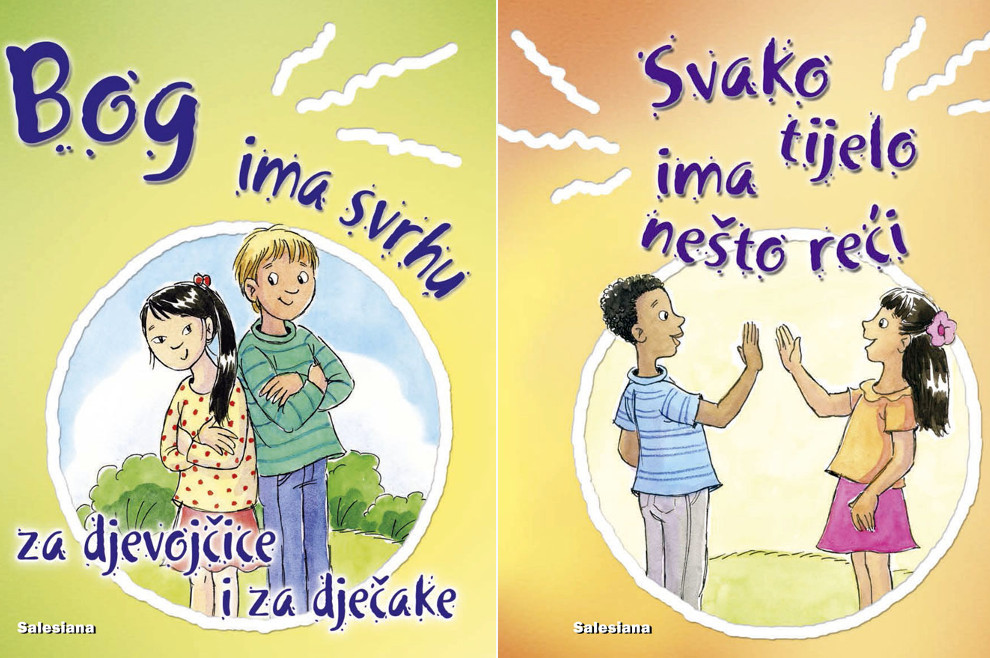 """""""Salesiana"""" izdala dvije slikovnice koje djeci objašnjavaju katolički pristup rodu, spolu i teologiji tijela"""