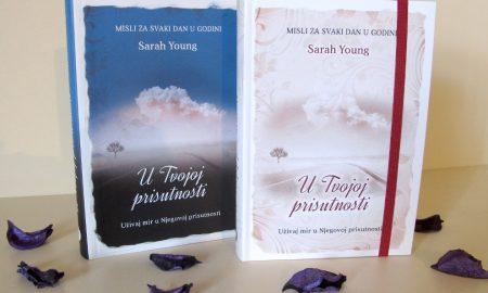 """Idealan poklon za posebne prilike – muška i ženska verzija knjige """"U Tvojoj prisutnosti"""""""