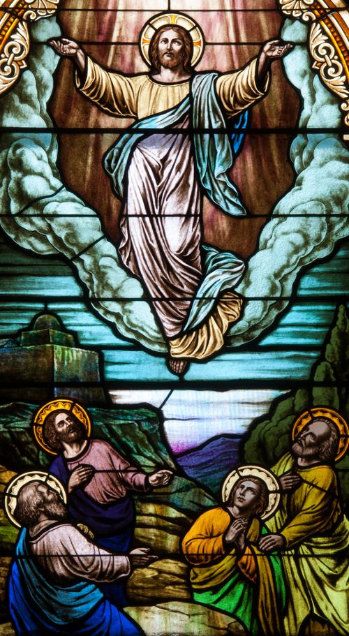Vitraj u crkvi svete Marije u Trieru (Njemačka)