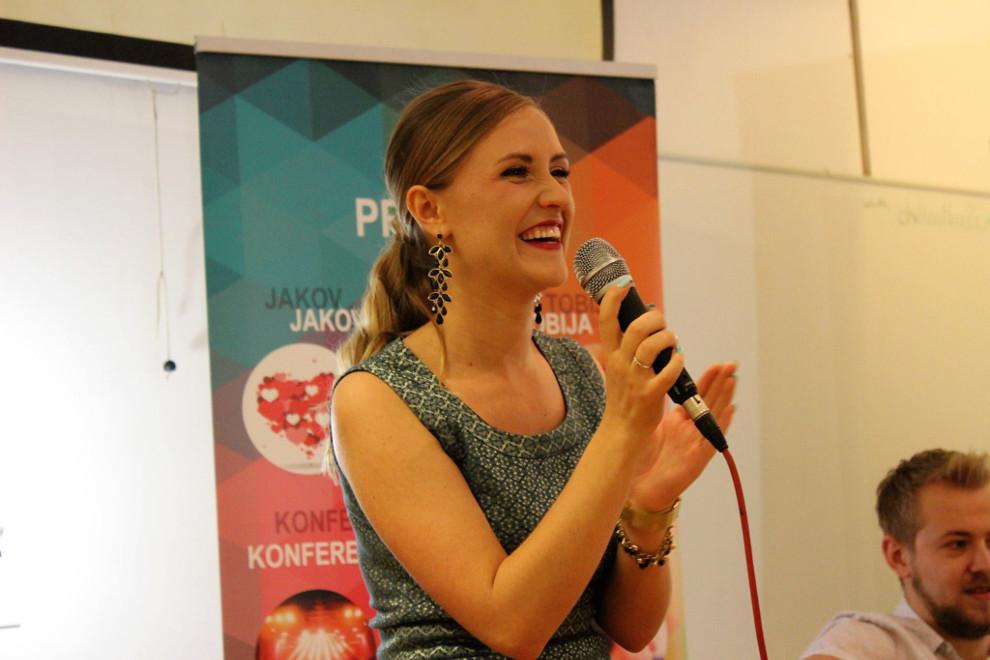 Mirjana Matijašević, voditeljica Škole govorništva