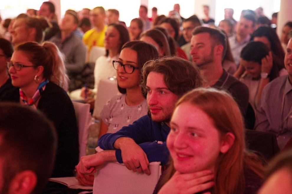 """Mladi na konferenciji """"Bog je ljubav"""", 2017. godine"""