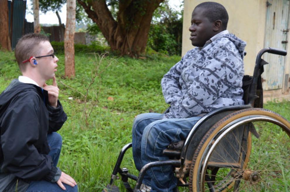 Misionar s Down sindromom pomaže gluhoj djeci u Keniji