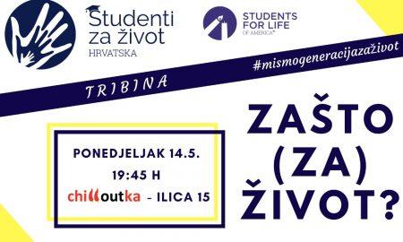 """Udruga """"Studenti za život"""" poziva na tribinu: o svom obraćenju svjedočit će šibenski ginekolog I. Zmijanović!"""