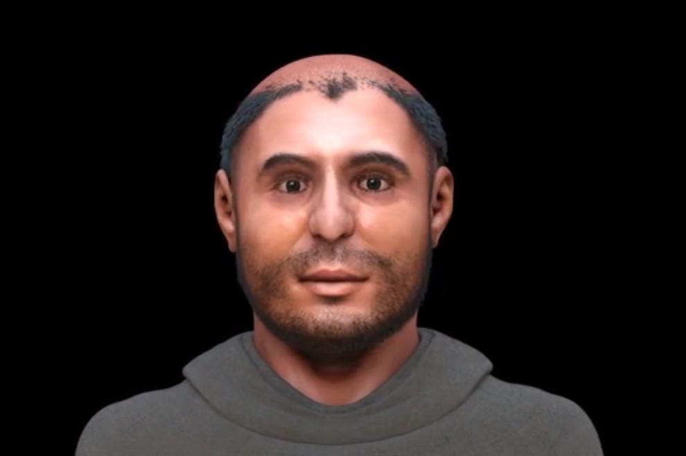 Ovako je izgledalo lice sv. Antuna Padovanskog